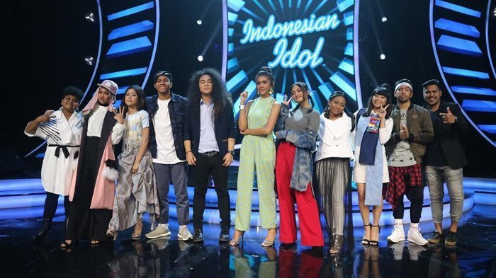 Whitney Harus Tersingkir, Inilah Kontestan yang Lolos Babak Top 10 Indonesian Idol 2018