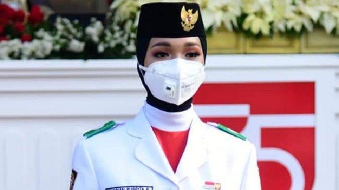 Jadi Pembawa Baki Sangsaka Bendera Merah Putih, Siswa SMAN 1 BireuenHarumkan Nama Aceh