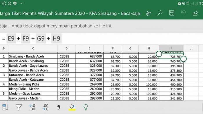 Ini Harga Tiket Pesawat Dari Gayo Lues Ke Medan Dan Banda Aceh Serambi Indonesia