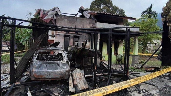 Kasus Pembakaran Rumah Wartawan Belum Terungkap