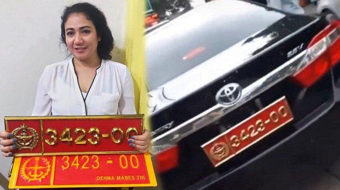 Kasus Wanita Pamer Mobil Dinas TNI Plat Palsu Ditangani Polisi, Terancam Hukuman 6 Tahun Penjara