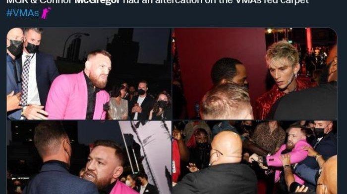 Diduga Akibat Ditolak Berfoto, Conor McGregor Nyaris Baku Hantam dengan Kekasih Megan Fox