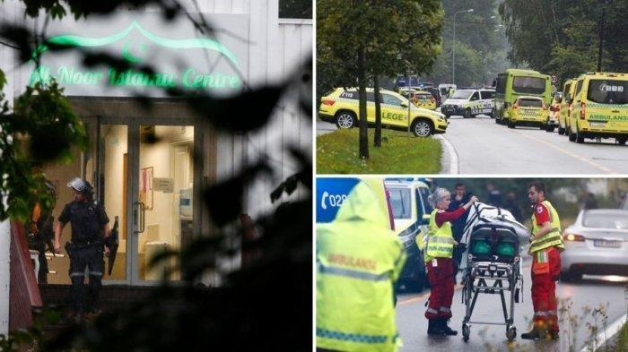 Sehari Sebelum Idul Adha, Insiden Penembakan Terjadi di Sebuah Masjid di Norwegia