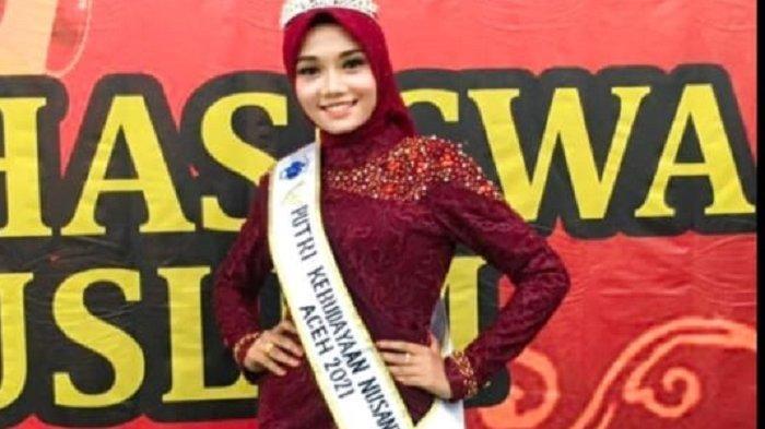 Intan Hayatun akan Wakili Aceh ke Ajang Pemilihan Putri Kebudayaan Nusantara 2021, Ini Profilnya