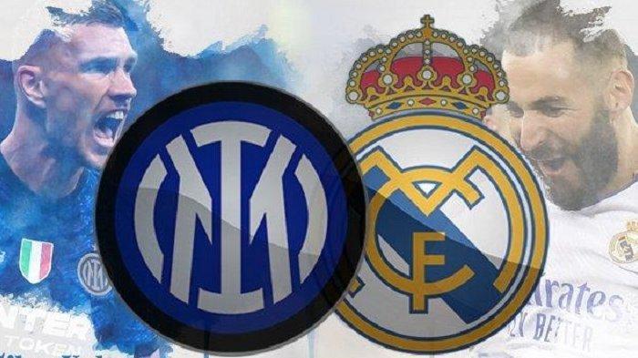 Prediksi Inter Milan vs Real Madrid di Liga Champions, Duel Ketajaman Edin Dzeko dan Karim Benzema