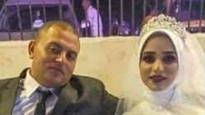 Isra Shaaban dan suaminya (Mirror)