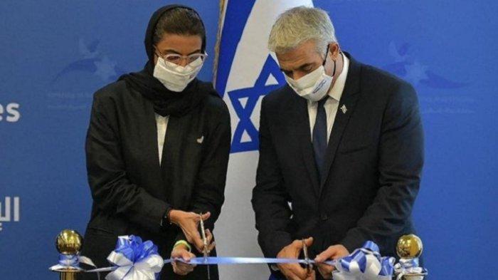 Kedubes Israel Pertama di Teluk Resmi Dibuka, Menlu Yair Lapid Buka Selubung di Abu Dhabi