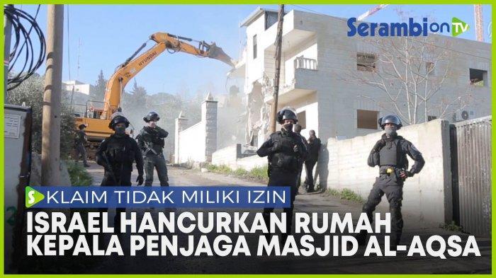Hamas Kecam Israel Hancurkan Rumah Kepala Penjaga Masjid Al-Aqsa, Sebut Kejahatan Perang