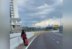 Di Tengah Virus Corona, Wanita Ini Rela Pulang Jalan Kaki Selama 4,5 Jam Demi Mengurus Sang Suami