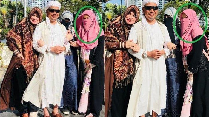 Selamat, Ummi Akhtar Istri Ketiga Ustaz Arifin Ilham Melahirkan, Ini Dia Wajah Baby
