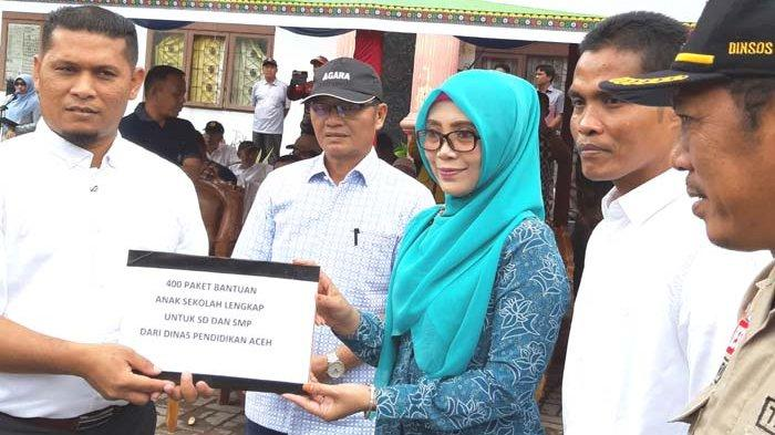 Istri Plt Gubernur Bawa Seluruh SKPA ke Agara