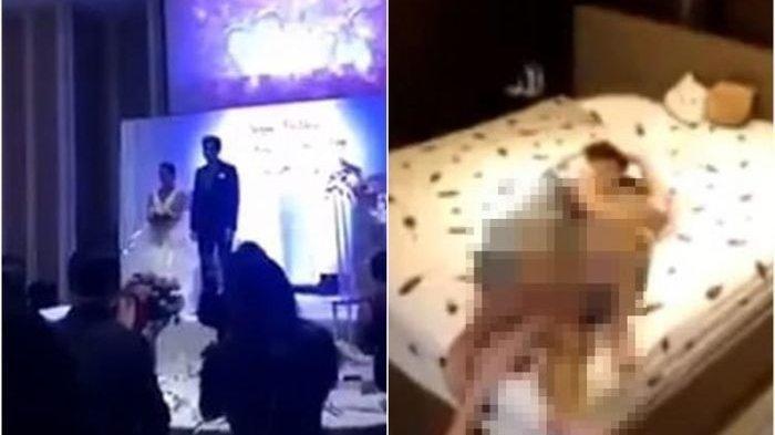 Tamu Resepsi Pernikahan Dibuat Syok, Pria di Cina Ini Putar Video Perselingkuhan Istri dengan Ipar