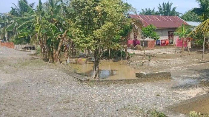Banjir di Tripa Makmur Nagan Raya Mulai Surut, Potensi Banjir Susulan Perlu Diwaspadai