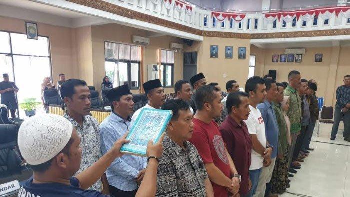 25 Anggota DPRK Abdya Dilantik Senin, Ini Tertib Acaranya