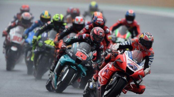 Live Streaming MotoGP Doha 2021 - Martin Dapat Pole Position, Rossi Merana