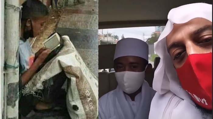 Syekh Ali Jaber Wafat, Anak Angkat si Pemulung Menangis: Maaf Akbar Belum Bisa Bahagiain Baba