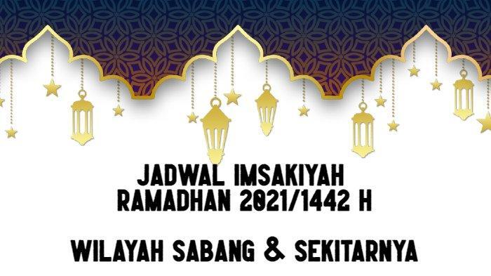 Jadwal Imsakiyah Ramadhan 2021/1442 H untuk Wilayah Kota ...