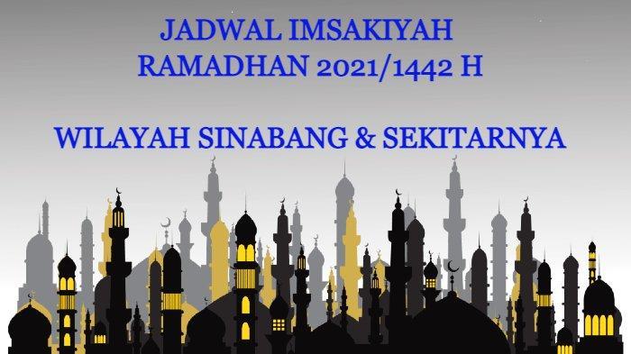 Jadwal Imsakiyah Ramadhan 2021/1442 H untuk Wilayah Sinabang dan Sekitarnya