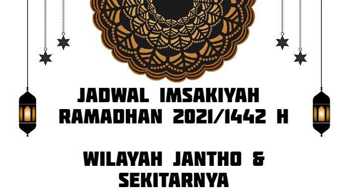 Jadwal Imsakiyah Ramadhan 2021/1442 H untuk Wilayah Jantho dan Sekitarnya