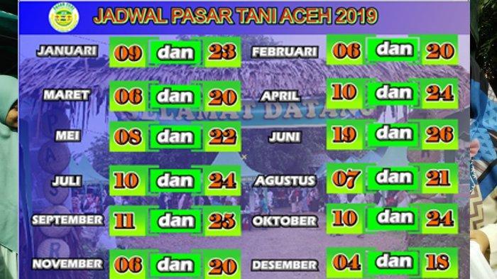 Ibu-ibu, Ini Jadwal Pasar Tani Aceh 2019, Bisa Beli Banyak Kebutuhan dengan Harga Lebih Murah