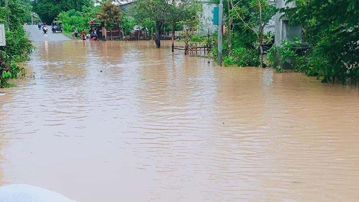Simpang Elak Lhokseumawe Terendam Banjir, Kendaraan Tak Bisa Melintas