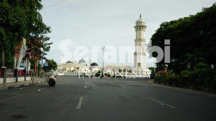 Banda Aceh Sepi Ditinggal Mudik, Lihat Foto-fotonya di Sini