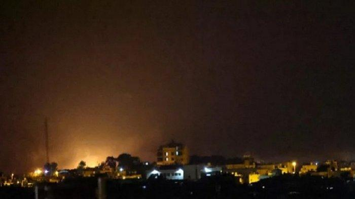 Hamas Tembakkan Roket, Jet Tempur Israel Gempur Jalur Gaza