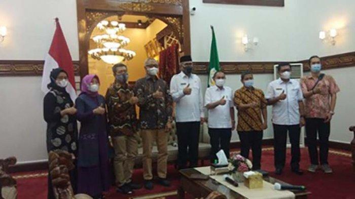 Tim Ditjen Kebudayaan Survei Muhibah Jalur Rempah di Aceh