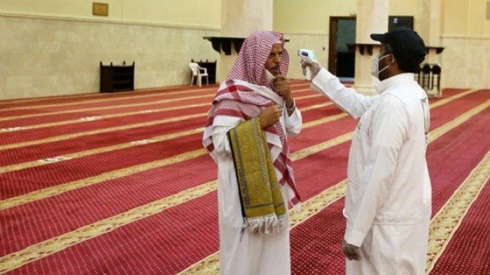 Seorang Imam Positif Covid-19, Masjid di Jazan Ditutup
