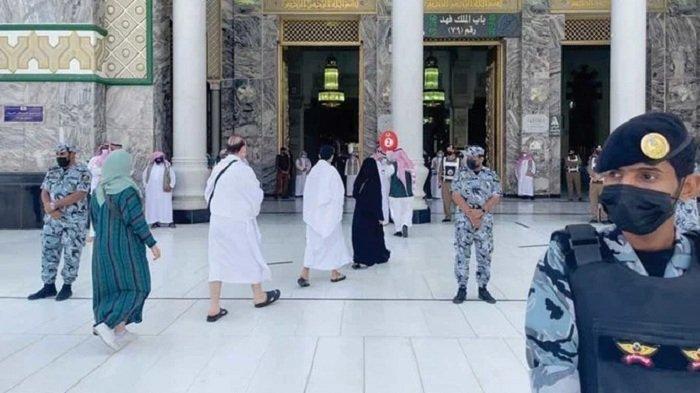 Jamaah Haji Berdatangan ke Masjidil Haram, Melalui Empat Titik Masuk