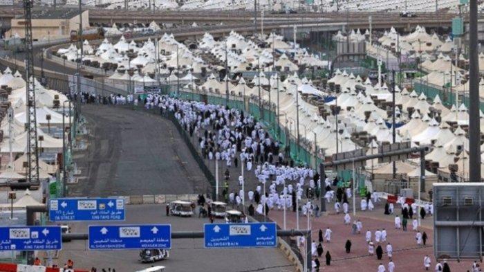 Jamaah Haji Kembali Berkumpul di Mina, Seluruh Pendukung Haji Siaga, Baik Darat Maupun Udara