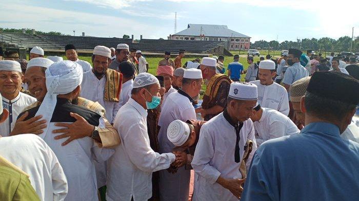 Shalat Idul Adha di Aceh Tamiang Jamaah Tetap Ramai, Khatib Ingatkan tentang Cinta pada Allah SWT