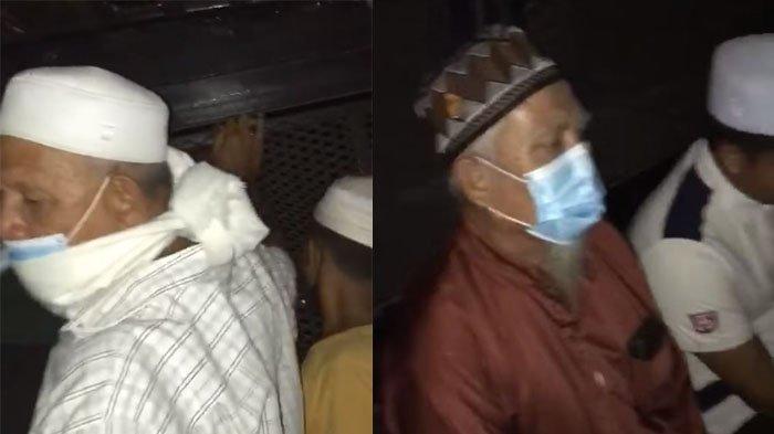 Jamaah Shalat Isya Diboyong Ke Kantor Polisi Karena Tak Taati Protkes, Dalam Truk Terdengar Shalawat
