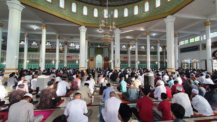 Jamaah Shalat Idul Fitri di Aceh Tengah tak Seramai Tahun Lalu