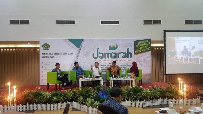Kemenag Aceh Bahas Permasalahan Haji dan Umrah, Tak Ada Penambahan Kuota Tahun Ini