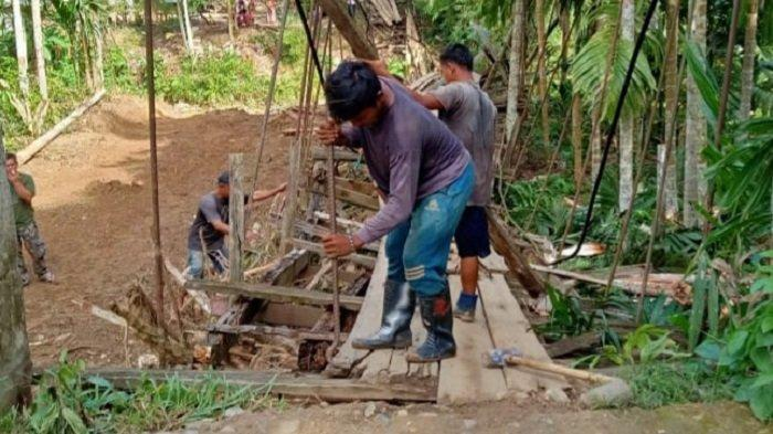 Pemkab Bireuen Bangun Jembatan di Alue Lam Saba Jeunieb