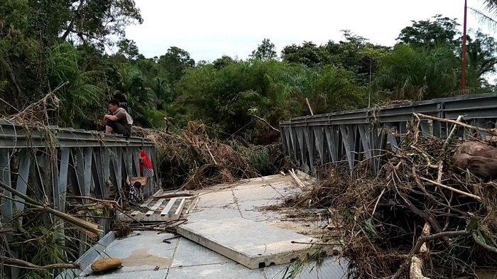 Banjir Aceh Singkil Meluas, Hulu Sungai Surut Jelang Siang Giliran Hilir Terendam