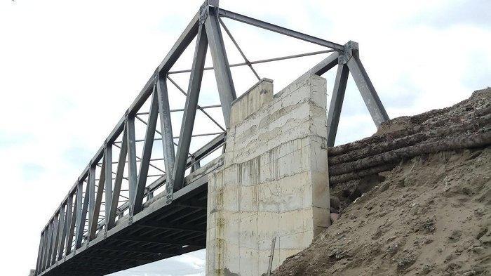 Jembatan ' Abu Nawas' di KB Tanjong Masih Mangkrak, Diusulkan Dana Kembali Rp 5 Miliar