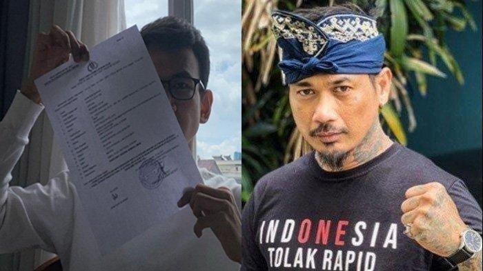 Baru Bebas, Jerinx SID Kembali Dilaporkan ke Polda Metro Jaya oleh Pegiat Media Sosial Adam Deni