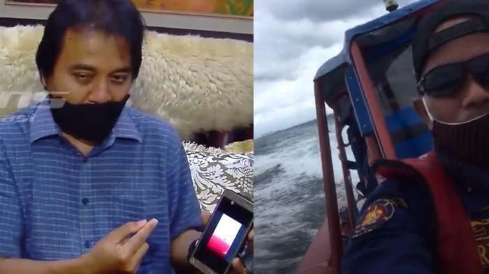 VIRAL Jeritan Minta Tolong Terekam saat Pencarian Sriwijaya Air, Roy Suryo Ungkap Fakta Ini