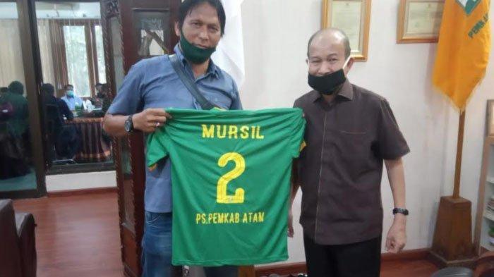 Hattrick Pak Guru Antarkan Pemkab Aceh Tamiang ke Semifinal Turnamen Sepak Bola di Deliserdang
