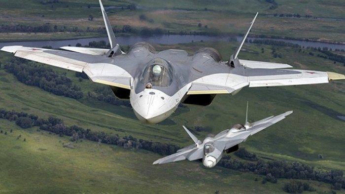 Jet Tempur Su-57 Rusia Diminati 5 Negara Asia Tenggara, Mampu Serang Target di Udara, Darat & Laut
