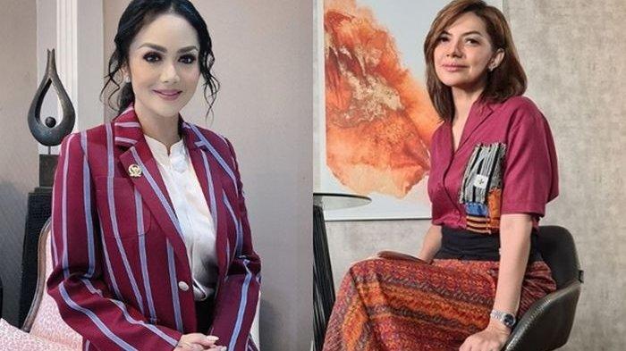 Krisdayanti Meradang Dikritik Najwa Shihab soal Banyak Kursi Kosong saat Rapat Paripurna DPR