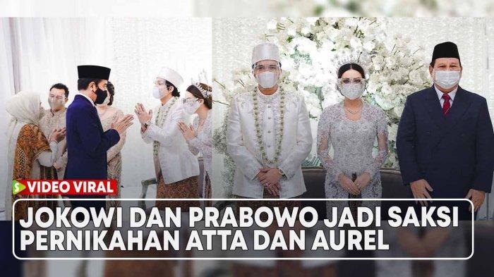 Disorot Karena Jadi Saksi Nikah Aurel, Terkuak Kedekatan Jokowi & Prabowo dengan Keluarga Hermansyah