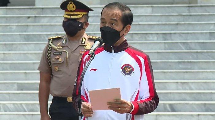 Puji Kemenangan Greysia/Apriyani di Olimpiade Tokyo 2020, Presiden Jokowi: Ini Kado HUT Kemerdekaan