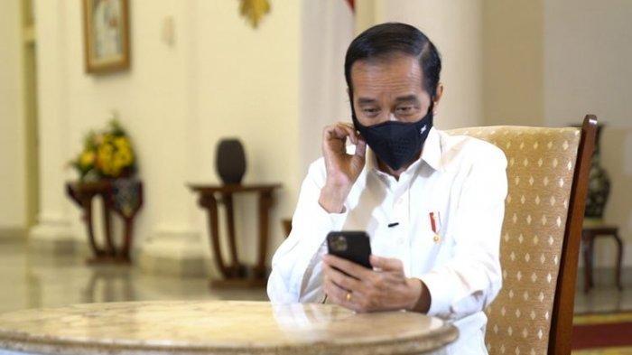 Dialog Virtual dengan Siswa SD, Begini Reaksi Jokowi saat Ditanya 'Kalau Jadi Presiden Ngapain Aja?'