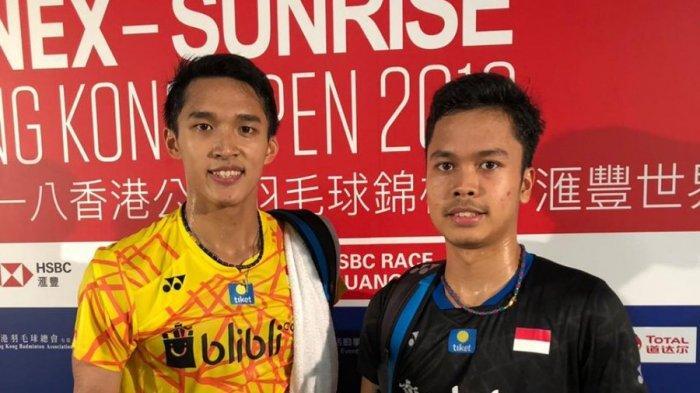 Hasil Semifinal Australia Open 2019-Anthony dan Jonatan Menang, Indonesia Pastikan Satu Gelar Juara