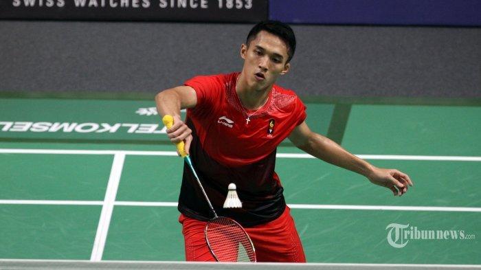 Streaming Indosiar & TVRI Bulutangkis Olimpiade, Jonatan Christie Lawan Wakil Singapura Sesaat Lagi
