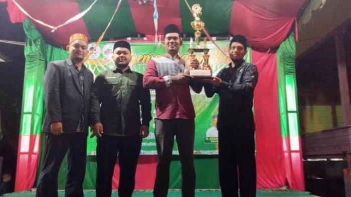 Lampanah Tunong Aceh Besar Juara Umum Gema Ramadhan 1442 H, Ini Kata Hanifullah Saat Tutup Acara
