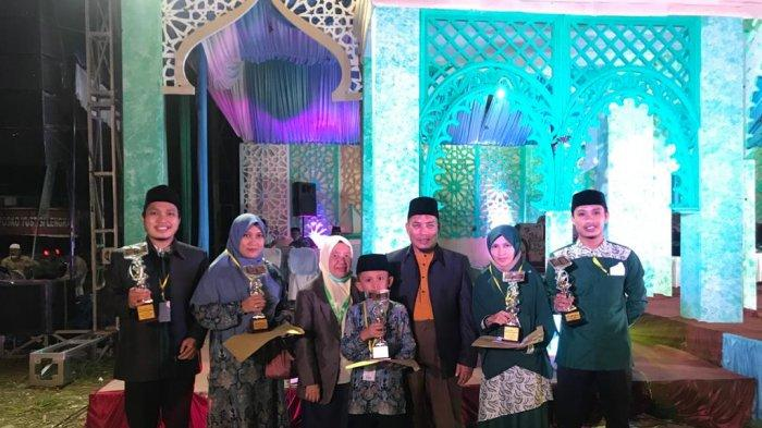 Kecamatan Gunung Meraih Raih Juara Umum MTQ Aceh Singkil, Dosen Poltas Raih Juara III